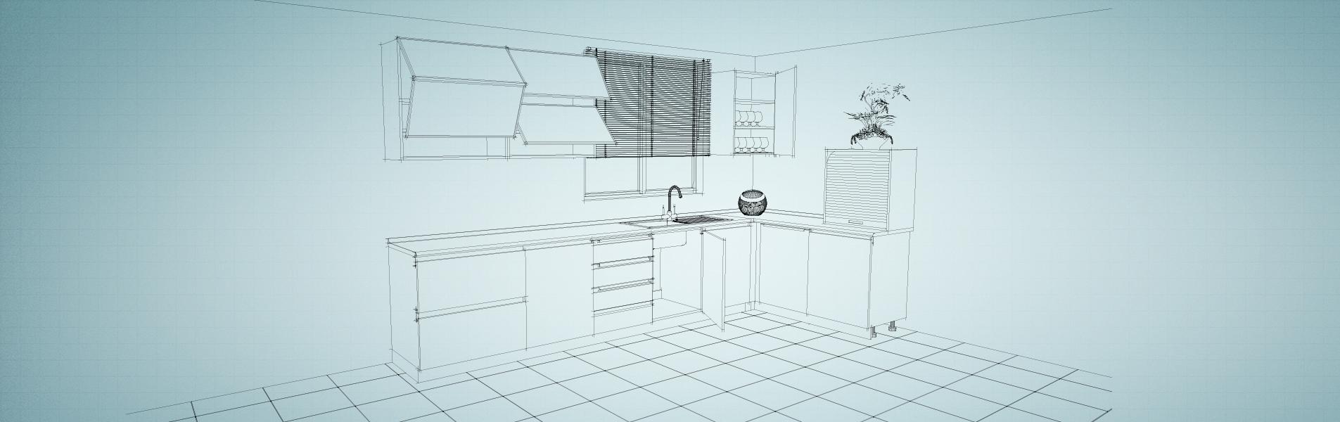 mutfak ray kapak
